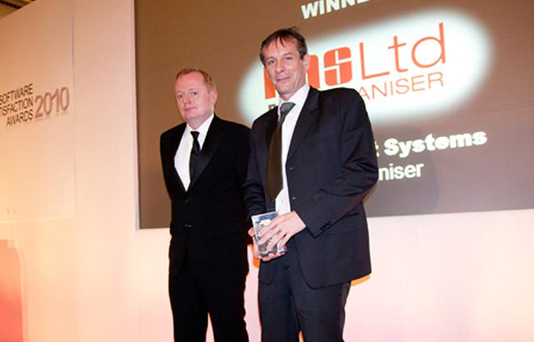 PAS Ltd wins a Software Satisfaction Award